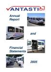 Annual Report Vantastic 2005