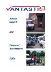 Annual Report Vantastic 2006