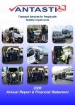Annual Report Vantastic 2008