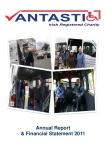 Annual Report Vantastic 2011