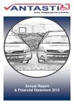 Annual Report Vantastic 2012